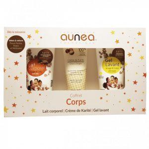 COFFRET CORPS (GEL LAV 200 + LAIT CORPS 200 + CREME DE KARITE)